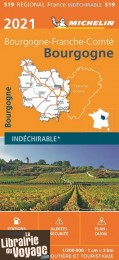 Michelin - Carte Régionale n°519 - Bretagne - Edition 2021