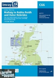 Imray Chart - Carte marine C66 - Mallaig to Rudha Reidh and outer Hebrides (Ouest de l'Ecosse)