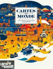 Editions E.P.A / Gestalten - Beau livre - Cartes du monde (selon 90 graphistes & illustrateurs contemporains)