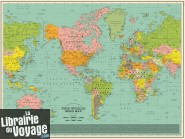 Dorothy - Carte Murale - World song map (Carte du Monde des titres de chansons)