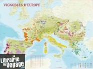 Editions Benoît France - Poster - Carte des Vignobles d'Europe