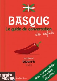Editions Bonhomme de chemin - Basque - Guide de conversation des enfants