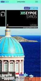 Editions Terrain Maps - Carte de Syros