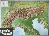 Georelief - Carte des Alpes en relief