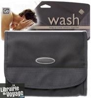 Go Travel - Réf.654 - Trousse de toilette pliable (Hang up wash bag)