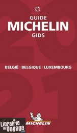 Guide Rouge Michelin - Belgique & Luxembourg - Edition 2021