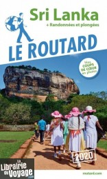 Hachette - Le Guide du Routard - Sri Lanka - Edition 2020