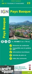 I.G.N - Collection Carte Top 75 - n°23 - Pays Basque