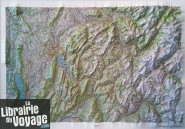 I.G.N - Carte en relief Annecy Mont-Blanc