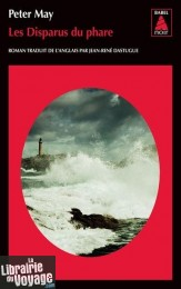 Editions Babel Noir - Collection Poche - Roman - Les disparus du phare (Peter May)