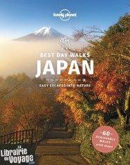 Lonely Planet - Guide en anglais - Best day walks - Japan