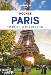 Lonely Planet - Guide en anglais - Paris Pocket