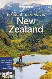 Lonely Planet - Guide en anglais - Hiking & Tramping in new Zealand -anglais-