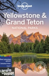 Lonely Planet - Guide (en anglais) - Yellowstone & Grand Teton national parks