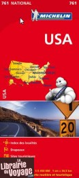 Michelin - Carte N°761 - Etats Unis (USA)