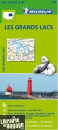 Michelin - Carte Zoom USA n°173 - Les grands lacs