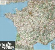 Michelin - France routière - Carte murale plastifiée