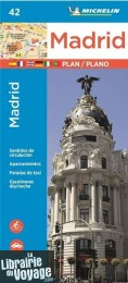 Michelin - Madrid Plan et index des rues n°42