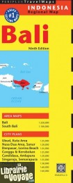Periplus Travel Maps - Carte - Bali
