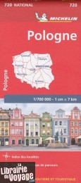 Michelin - Carte N°720 - Pologne
