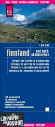 Reise Know-How Maps - Carte de Finlande (et nord Scandinavie)