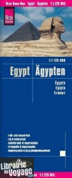 Reise Know-How Maps - Carte de l'Egypte