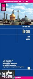 Reise Know-How Maps - Carte de l'Iran