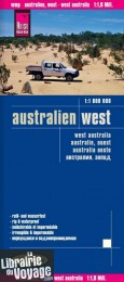 Reise Know-How Maps - Carte de l'Ouest de l'Australie
