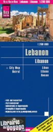 Reise Know-How Maps - Carte du Liban