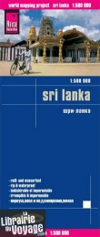 Reise Know-How Maps - Carte du Sri Lanka