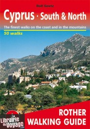Rother - Guide de Randonnées - Cyprus - South & North (en anglais)