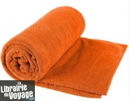 Sea to summit - Serviette de toilette taille L (Tek towel) - Couleur Orange