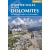 Cicerone - Guide de randonnées en anglais - Shorter walks in the Dolomites