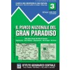 Istituto Geografico Centrale (I.G.C) - N°3 - Gran Paradiso (Parc national du Grand Paradis)