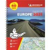 Michelin - Atlas routier à spirales - Europe - Edition 2021