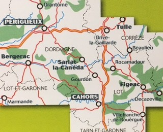 Michelin Carte Zoom France N 118 Perigord Quercy